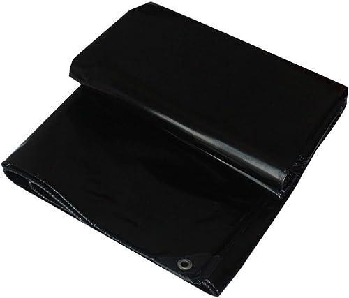 Bache épaissir Multifonction écran Solaire en Extérieur Imperméable à l'eau Ombre Tissu Linoléum Plusieurs Tailles Peuvent être Personnalisés GMING (Couleur   Noir, Taille   4x6M)