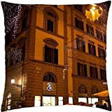 Hotel–Florencia, Italia–Funda de almohada manta (18'x 18)