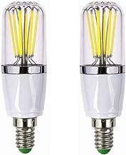 SGJFZD E14 LED Candle Bulbs 12V, 40W Incandescent Bulb Equivalent, 6W, 400-450lm, Small Edison Screw LED Bulbs,for RV Camp...