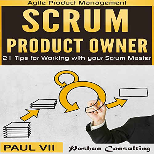Scrum Product Owner audiobook cover art