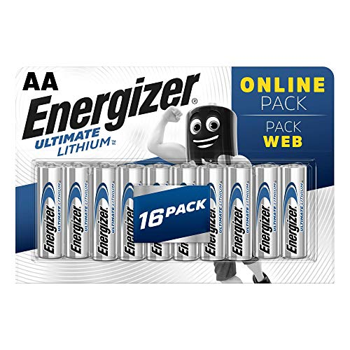 Energizer Batterien AA, Ultimate Lithium, 16 Stück