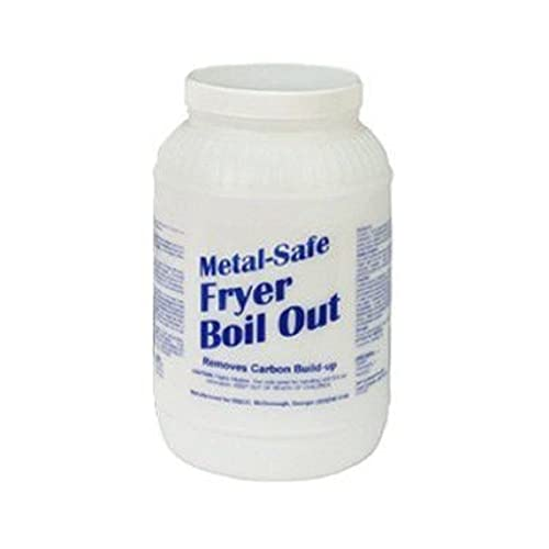 Metal-Safe Fryer Boil Out, Disco MSFB08, 2 each 8# tubs per