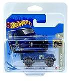 Hot Wheels Land Rover Defender 90 (azul) 4/10 Baja Blazers 2021 - 32/250 (tarjeta corta) GTC26 *** Viene en una funda protectora para el mantenimiento del coche KLAS ***
