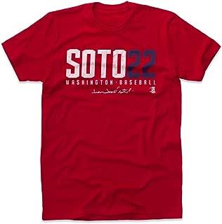 500 LEVEL Juan Soto Shirt - Washington Baseball Men's Apparel - Juan Soto Soto22