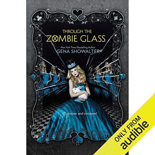 Through the Zombie Glass audiobook cover art