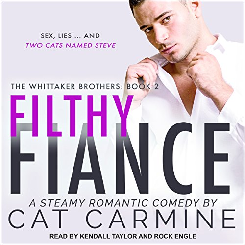 Filthy Fiance audiobook cover art