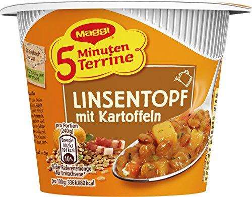 Maggi Linsentopf mit Kartoffeln, 1er Pack (1 x 49 g)
