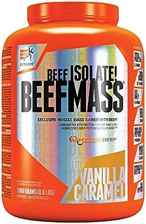Extrifit Beef Mass Paquet de 1 x 3000g – Gainer - Isolat de ...