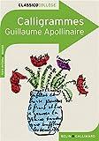 Calligrammes - Poèmes de la paix et de la guerre (1913-1916) - Belin - Gallimard - 19/08/2008