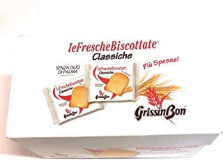 Fette Hotel Grissin Bon Le Fresche Biscottate Classiche Più Spesse - gr 18 X 48 Confezioni Da 2 Fette