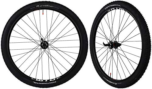 CyclingDeal WTB ST i25 Tubeless Ready Mountain Bike Bicycle Novatec Sealed Hubs with Tires Wheelset - Compatible with Shimano Sram 8 to11 Speed - Quick Release Front and Rear - 29'