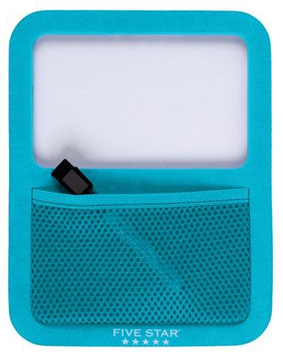 Five Star Locker Accessories, Locker Dry Erase Board with Storage Pocket, Magnetic, Teal (72592)