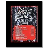 Music Ad World Mini-Poster, Alice Cooper - UK Tour 2007,