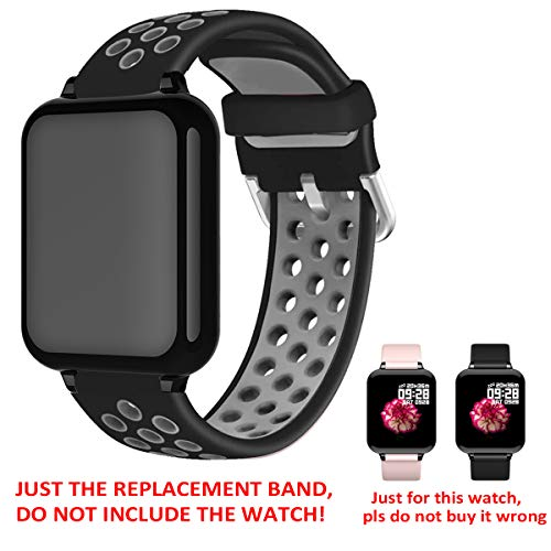 feifuns Smart Watch, Fitness Tracker Activity Tracker with Heart Rate Monitor , Replacement Band
