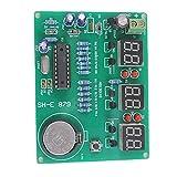 Kit de módulo de reloj electrónico 9V-12V AT89C2051 6 Número DIGITAL LED DIY componentes Módulo Módulo de control industrial