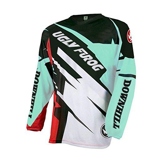 Uglyfrog 2018 Downhill Trikot Herren Mountainbike Freeride BMX Fahrradtrikot Motocross MTB/Downhill Bekleidung