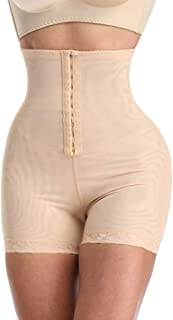 Cimaybeauty Women's Seamless Shapewear Tummy Control Thigh Slimmer High Waist Body Shaper High Waist Tummy Hip Pants Conjoined Body Shaping Pants Underwear