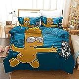 SSIN-The Simpsons - microfaser bettwäsche Simpson