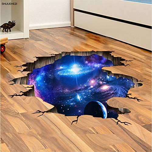 Zyzdsd 3D Cosmic Galaxy Planets Pegatinas De Pared Del Espacio Exterior Poster De Pared Para La Habitación De Los Niños Kindergarten Ceiling Decoration