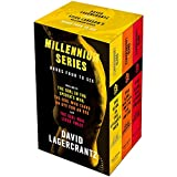 Millennium series 3 Books Collection Box Set by David Lagercrantz (Books 4 - 6) (The Girl in the Spider's Web, The Girl Who Takes an Eye for an Eye & The Girl Who Lived Twice)