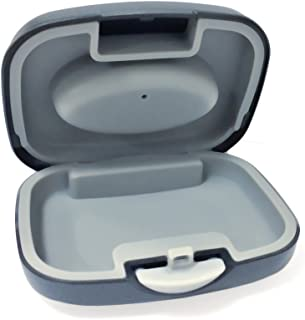 Hard Hearing Aid Storage Case for BTE, IEC, CIC Hearing Aids