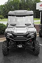 New Seizmik Vented Windshield (Double-Sided Polycarbonate) - 2014-2018 Honda Pioneer 700 UTV