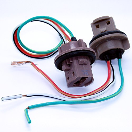 LED-Mafia 2X 7443 T20 W21/5W Sockel Lampenfassung Reparatur Kabel Lampe Stecker Fassung 12V