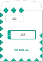 first class envelopes with windows