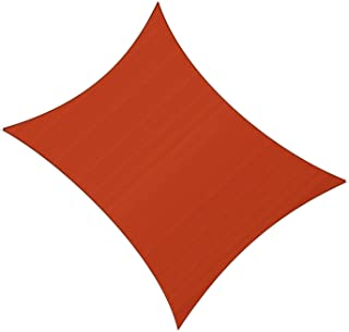 SUNLAX 12' x 16' Rectangle Sun Shade Sail Terra Color UV Resistant for Outdoor Patio Lawn Garden Activities