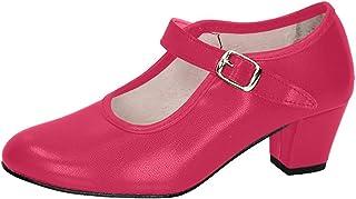 Zapato DE Flamenca CARLETI 15 Fucsia