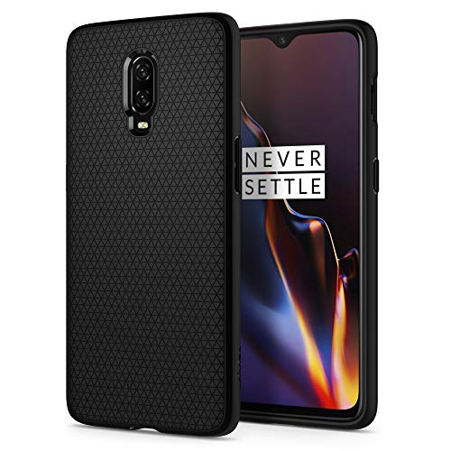 Spigen Liquid Air Armor Designed for OnePlus 6T Case (2018) - Black