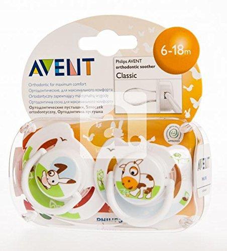 Philips Avent 8710103527817 Schnuller, mehrfarbig