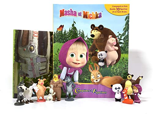 Phidal Masha et Michka Comptines et Figurines, Français, Version Française