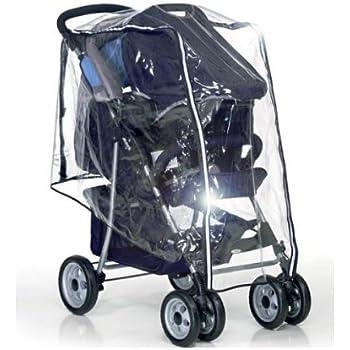213 Protector de lluvia Compatible con Joie Aire Doble Cochecito doble