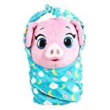 Disney Jr T.O.T.S. Cuddle & Wrap Plush, Pearl The Piglet, by Just Play