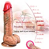 Multi Modes Thrusting Powerful Retractable Machine Gun Adult Toys Women Intelligent Heating Vibrate Dido Toy Clitorial...