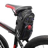 ROSWHEEL 10L Bolsa para Sillín Enrollable de Bicicleta Montaña Bici Mochila Alforja...