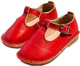 Fancyww Toddler Girls T-Strap Mary Jane Ballet Flat Princess Dress Shoes