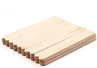 100 Pcs Craft Sticks Ice Cream Sticks Wooden Popsicle Sticks Treat Sticks Ice Pop Sticks, 6