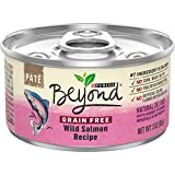 Purina Beyond Grain Free, Natural Pate Wet Cat Food, Grain Free Wild Salmon Recipe - (12) 3 oz. Cans