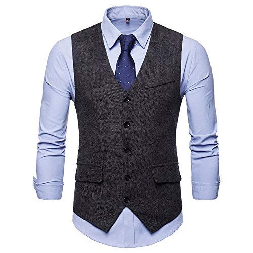 Minyu Jurk Vesten Mannen Herringbone Suit Vest Man Taillejas Gilet Wenen Business Vest XXL