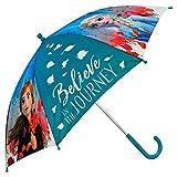4682 ディズニー アナと雪の女王 子供用 傘 自動傘 ジャンプ傘 直径88cm Disney Frozen2 umbrella [並行輸入品]