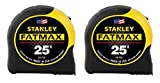 Stanley FMHT74038A FatMax 25 Foot Tape Measure 2PK