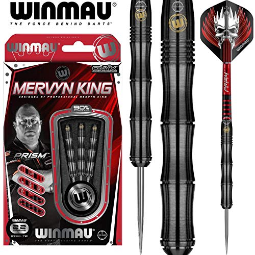 Winmau Mervyn King Steeldart Onyx Coating 1413 22 g 7045.01