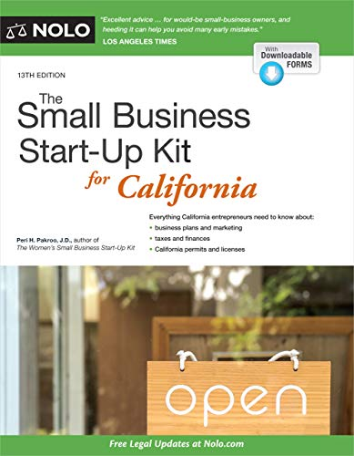 Compare Textbook Prices for Small Business Start-Up Kit for California, The Thirteenth Edition ISBN 9781413327250 by Pakroo J.D., Peri