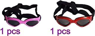 352eb553fc POPETPOP 2pcs Perros Gafas de Sol Perro Gato Gafas Mascotas Gafas Gafas  (Azul)