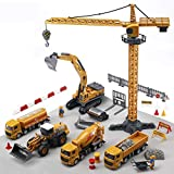 CUTE STONE Alloy Construction Vehicles Truck Toy...