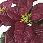 silksareforever-18-uv-proof-outdoor-artificial-poinsettia-flower-bush-red-pack-of-6