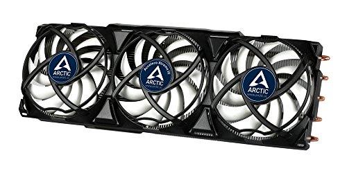 ARCTIC Accelero Xtreme III - Ultraleiser Grafikkartenkühler mit 3 x 92 mm PWM-Lüfter, neue Lüftersteuerung für höchste Effizienz (bis 300 Watt), multikompatibel mit NVIDIA und AMD