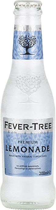 Fever tree Premium Lemonade, 200 ml (Pack Of 24)